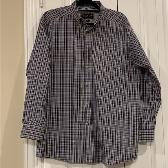 Ariat Pro Series Men's XL Long Sleeve Shirt